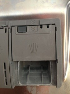 Bosch SHE4AP06UC/06 diswhaster detergent dispenser / container
