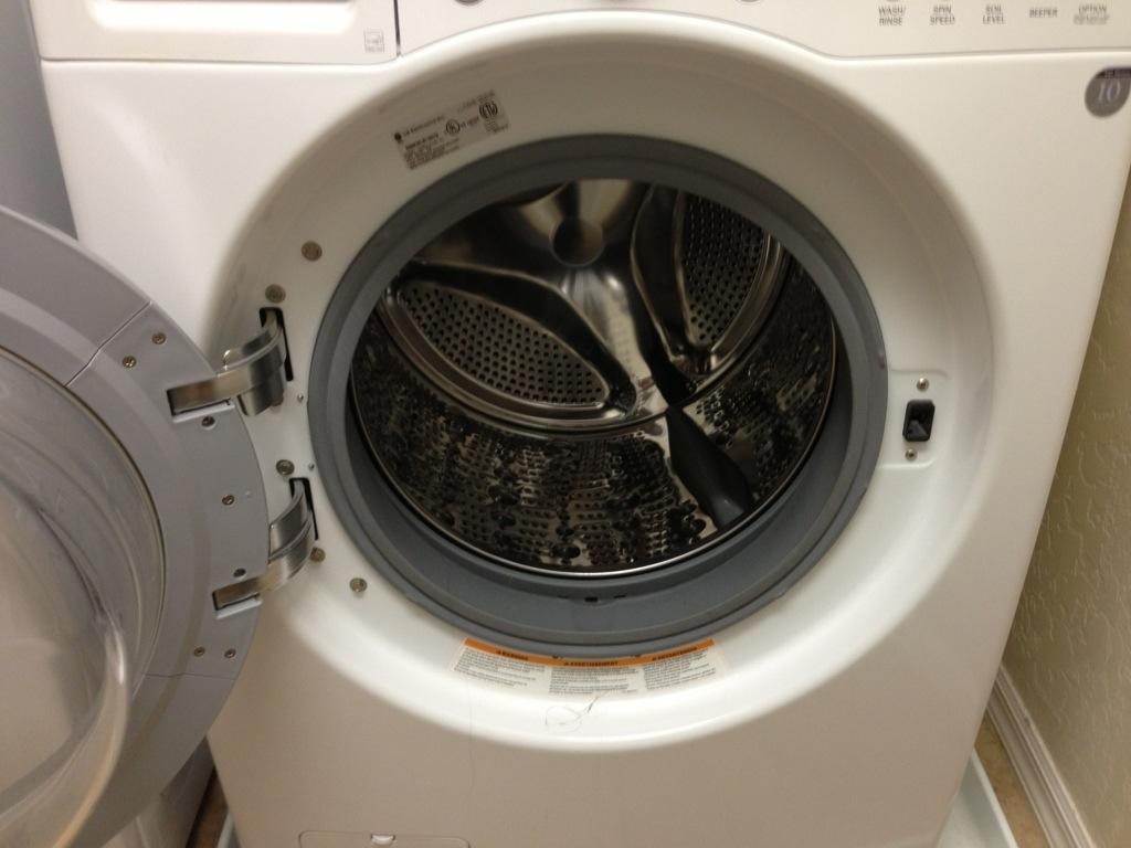 Washer dryer hookups reversed