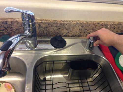 dishwasher air gap