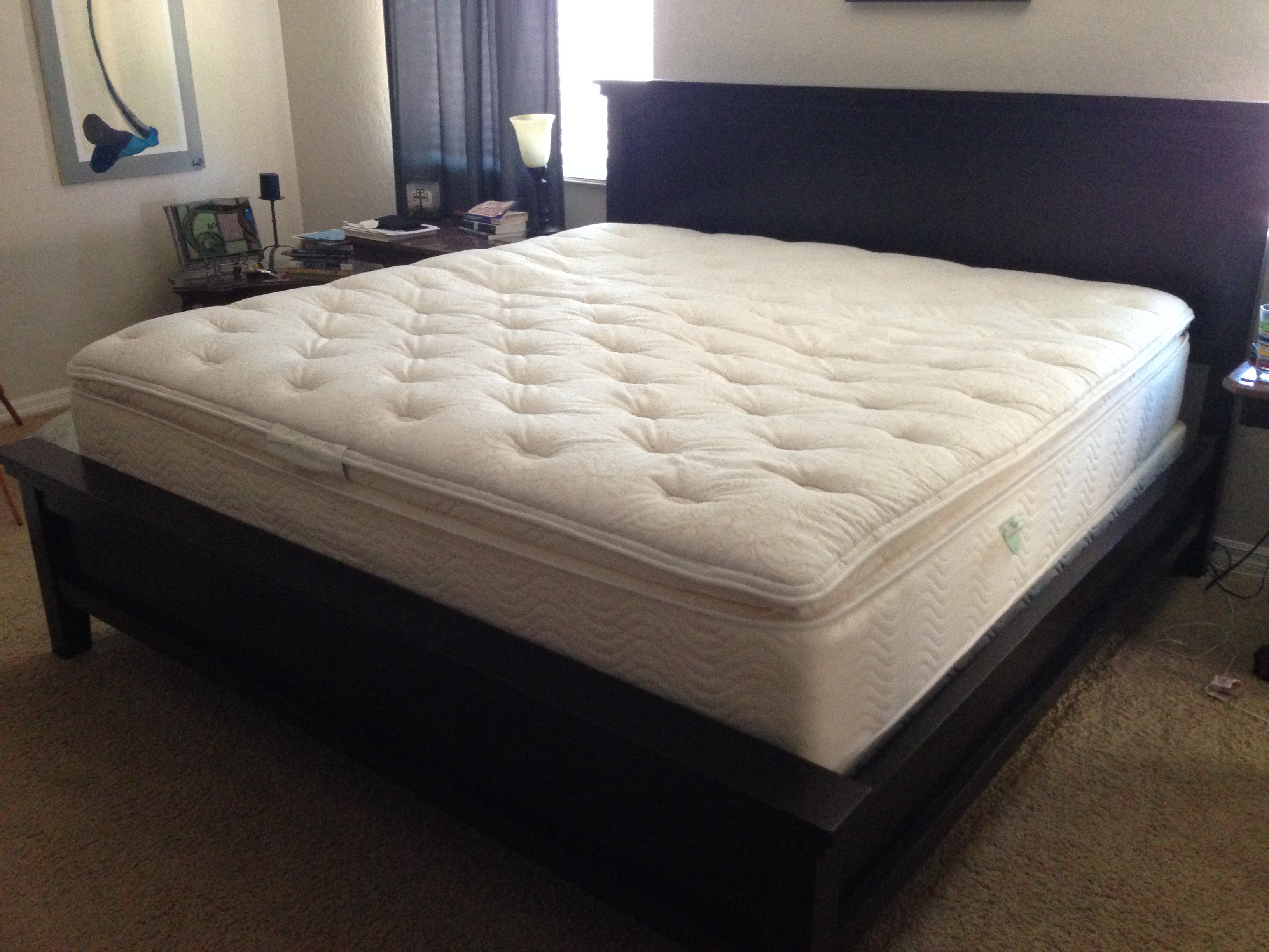 Costco 14 primifina novaform gel memory foam mattress for Average lifespan of a mattress
