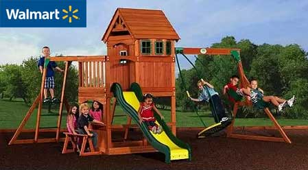 Walmart Swing Set Purchase Review