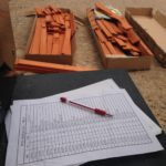 Inventorying Backyard Discovery Swing Set Parts from Walmart