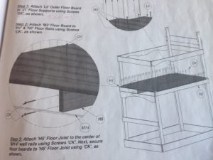 backyard discovery swing set instructions for floor joist