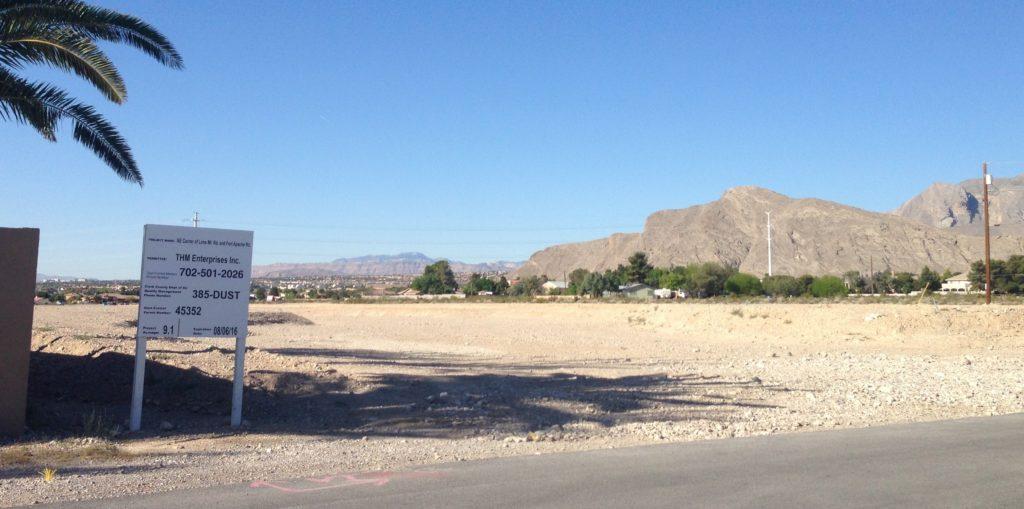 Touchstone Bulder Sign Ft Apache Lone Mountain Neighborhood Develpment