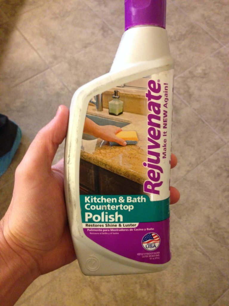 Kitchen and Bath polish - rejuvenate