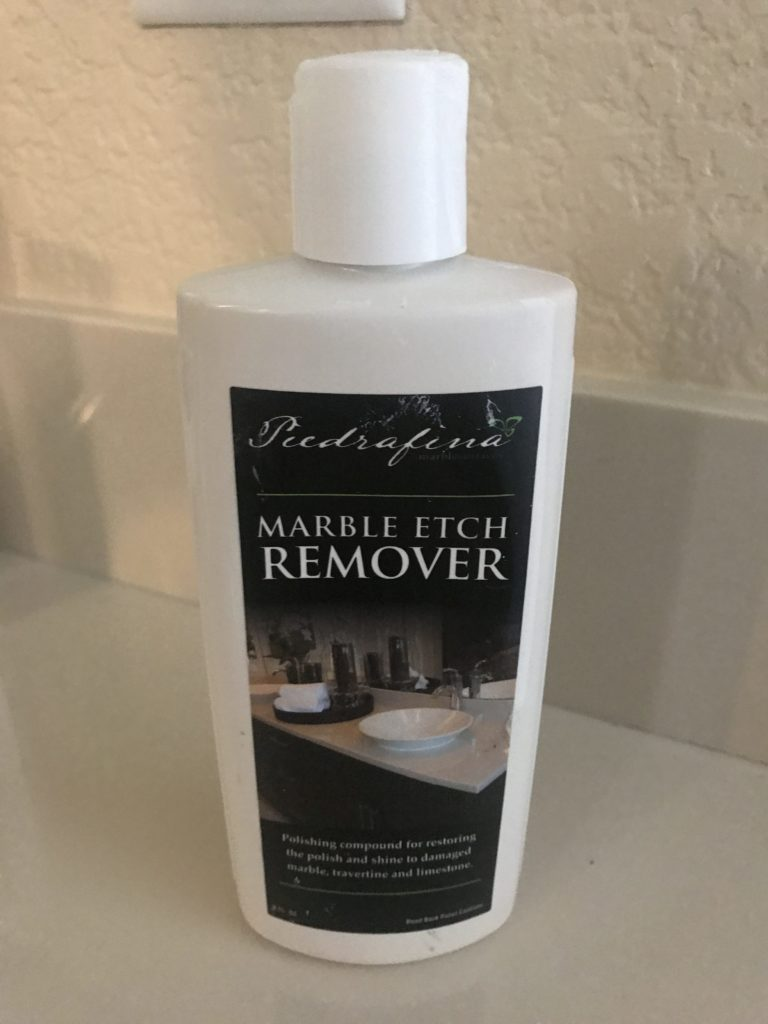 Piedrafina Marble Etch Remover