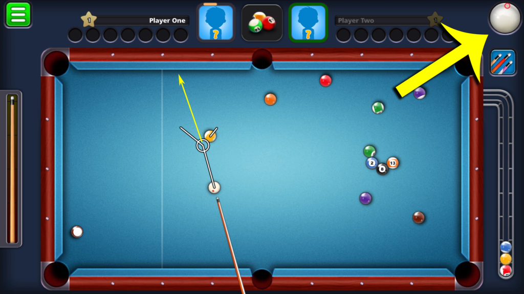 8 Ball Pool by Miniclip - Cue Spin Shot