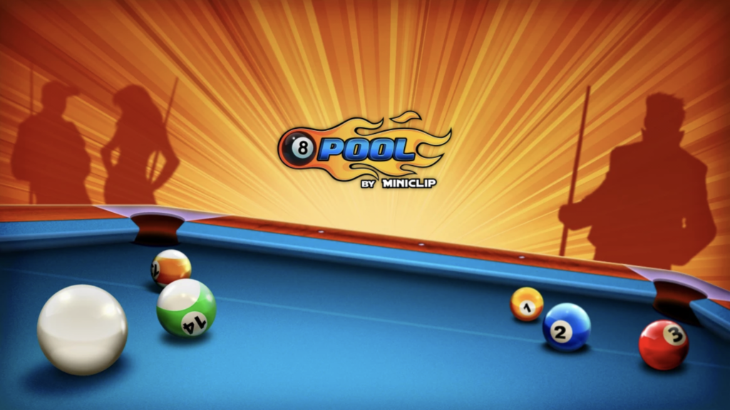 8 Ball Pool by Miniclip start screen